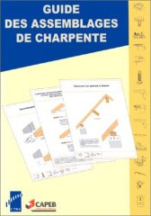 Couverture de Guide des assemblages de charpentes